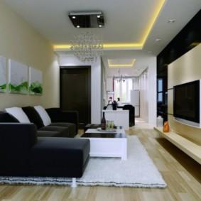 гостиная в стиле модерн фото дизайна