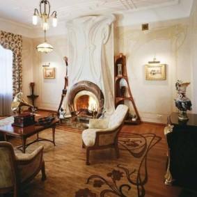 гостиная в стиле модерн фото интерьера
