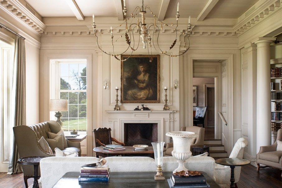 гостиная в стиле модерн идеи дизайна
