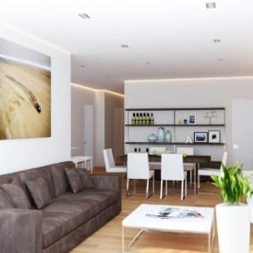 гостиная в стиле модерн интерьер идеи