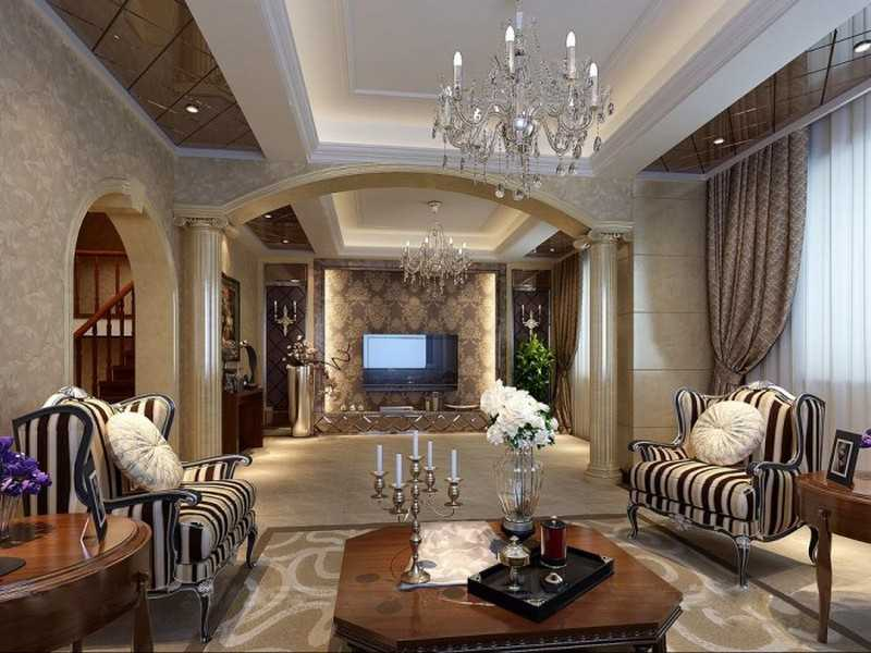 гостиная в стиле модерн виды интерьера