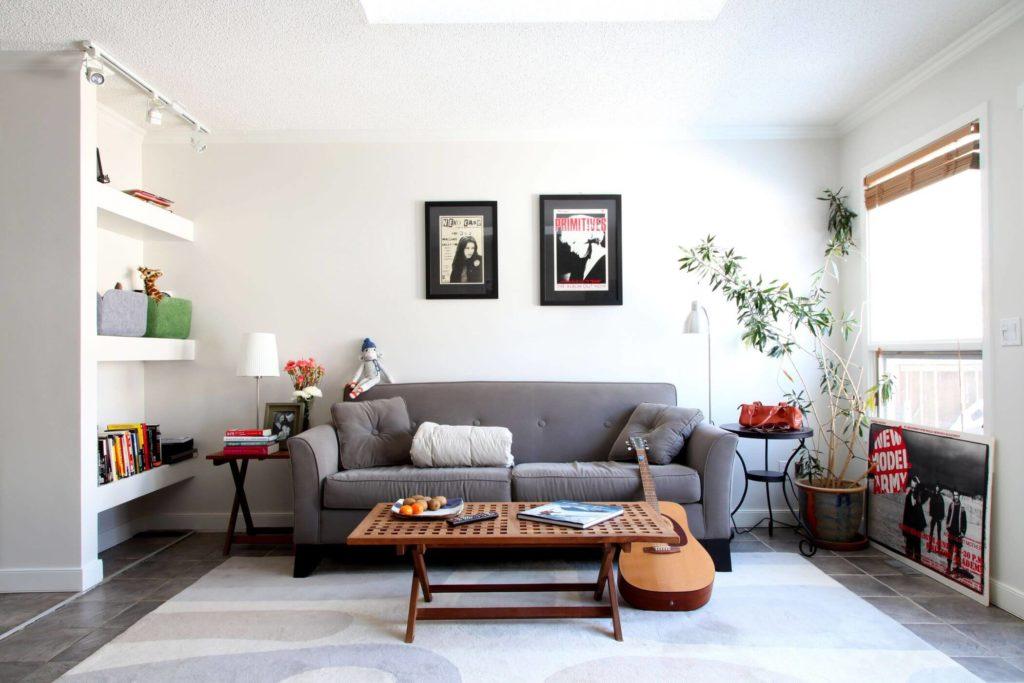 гостиная в скандинавском стиле декор идеи