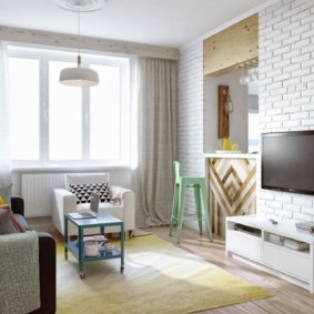 гостиная в скандинавском стиле фото идеи