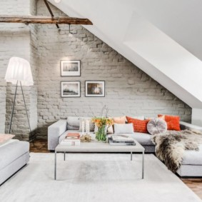 гостиная в скандинавском стиле фото интерьера