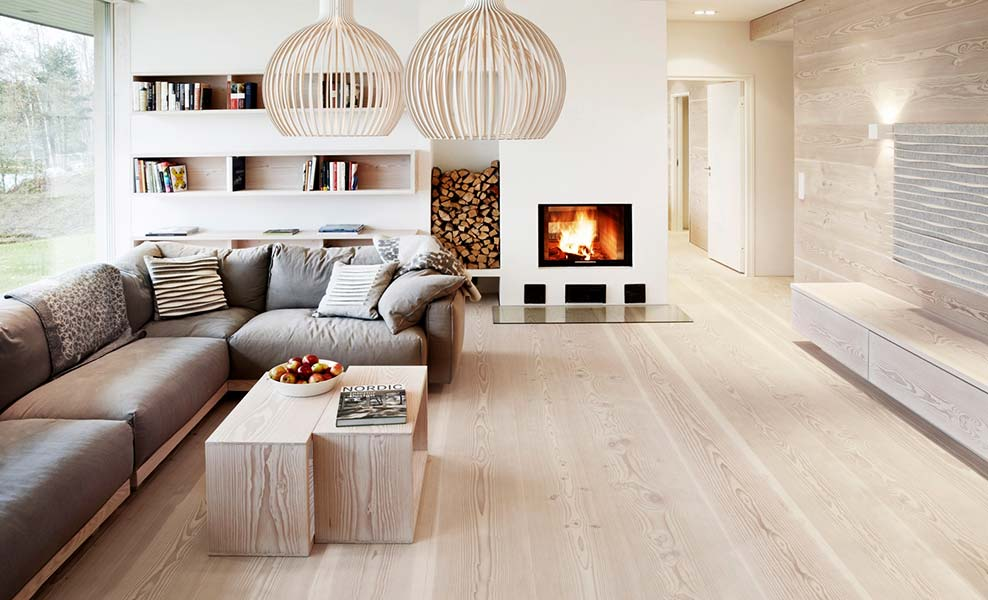 гостиная в скандинавском стиле идеи декора