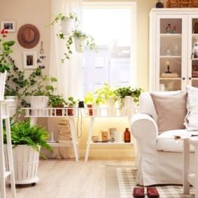 гостиная в скандинавском стиле идеи дизайна