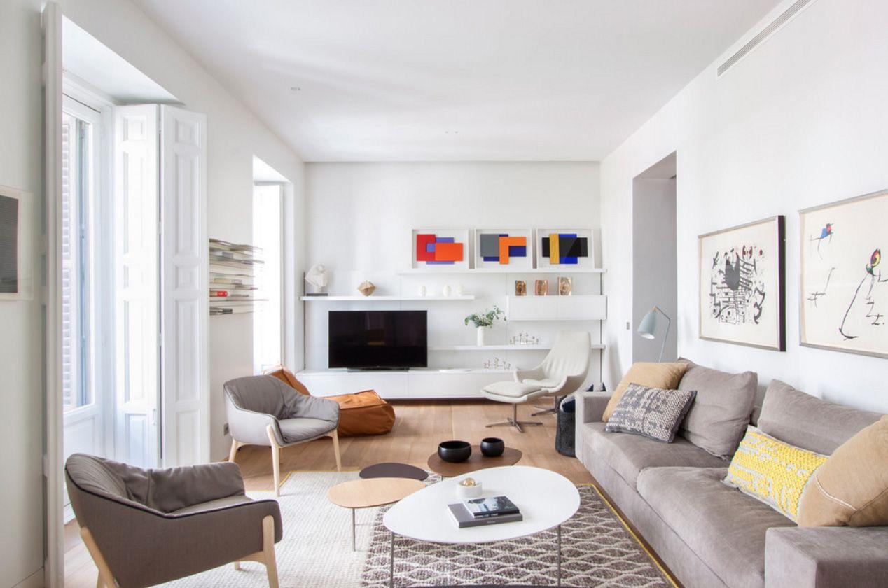 гостиная в скандинавском стиле идеи интерьера