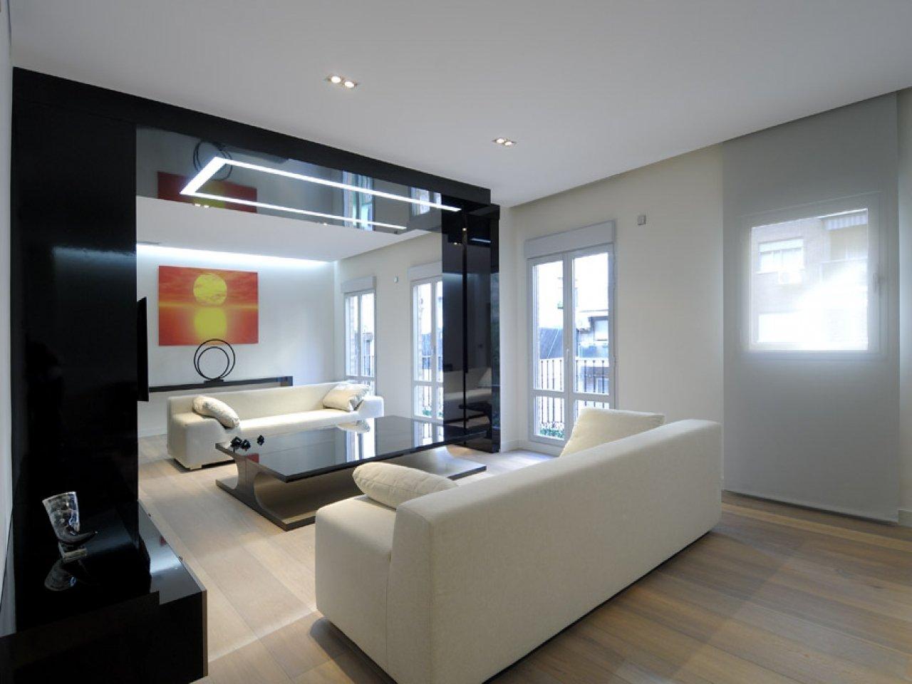 гостиная в стиле хай тек дизайн идеи