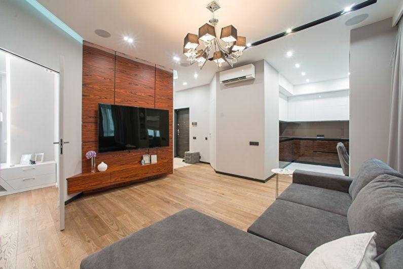 гостиная в стиле минимализм дизайн фото