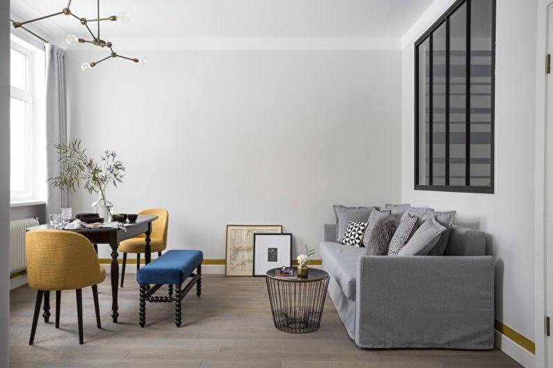 гостиная в стиле минимализм фото декора