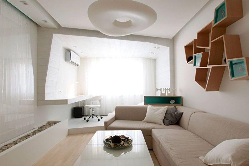гостиная в стиле минимализм идеи декор