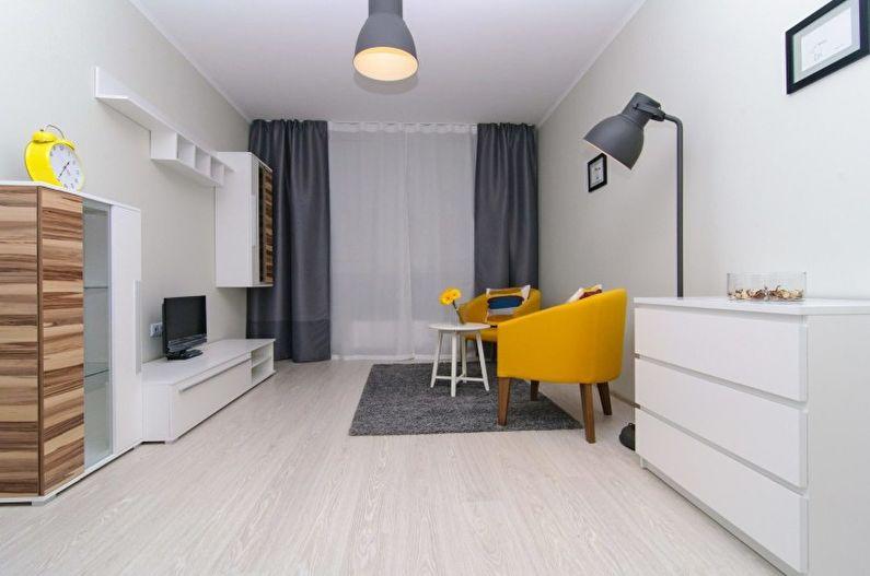 гостиная в стиле минимализм виды дизайна