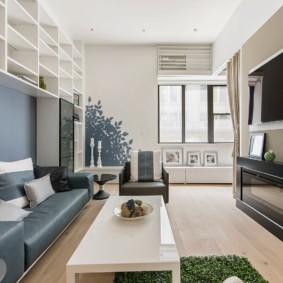 гостиная в стиле модерн дизайн идеи