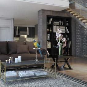 гостиная в стиле модерн фото декора