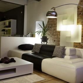 гостиная в стиле модерн фото видов