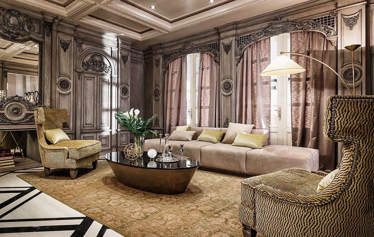 гостиная в стиле модерн идеи декор