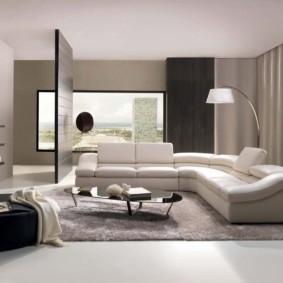 гостиная в стиле модерн идеи интерьера