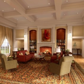 гостиная в стиле модерн идеи оформление