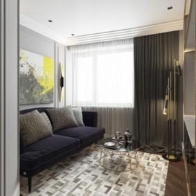 гостиная в стиле модерн идеи виды
