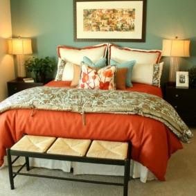 интерьер спальни по фен шуй оформление