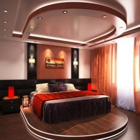 интерьер спальни по фен шуй варианты