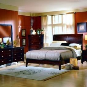 интерьер спальни по фен шуй виды фото
