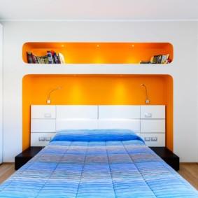 интерьер спальни по фен шуй декор фото