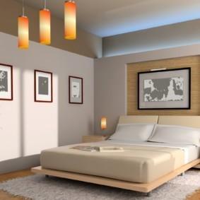 интерьер спальни по фен шуй идеи дизайна
