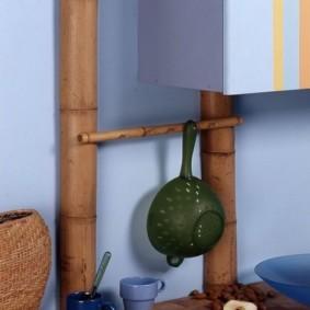 как спрятать газовую трубу на кухне дизайн фото