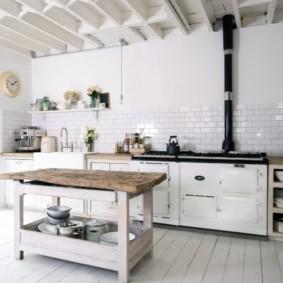как спрятать газовую трубу на кухне фото варианты