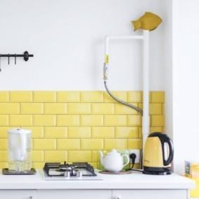 как спрятать газовую трубу на кухне идеи