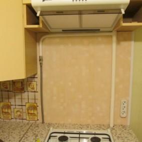 как спрятать газовую трубу на кухне идеи декора
