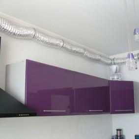 как спрятать газовую трубу на кухне идеи дизайн