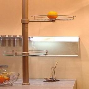как спрятать газовую трубу на кухне идеи оформление