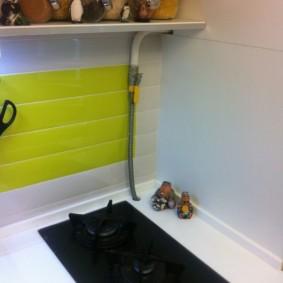 как спрятать газовую трубу на кухне варианты фото