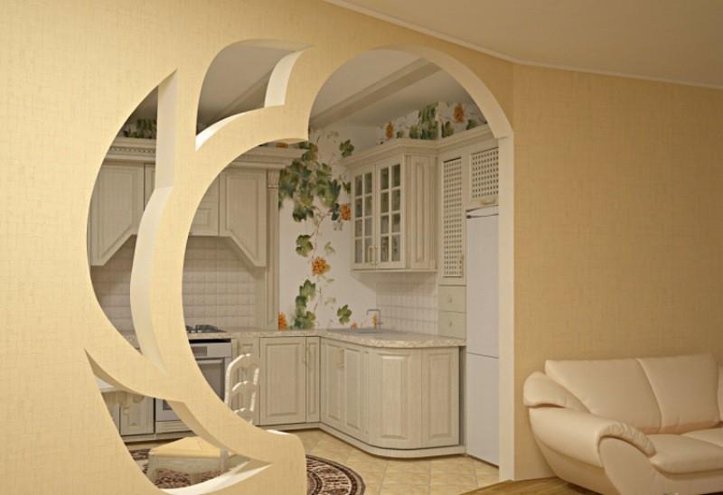 как установить арки вместо двери