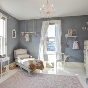 Просторная детская комната для мальчика дошкольного возраста