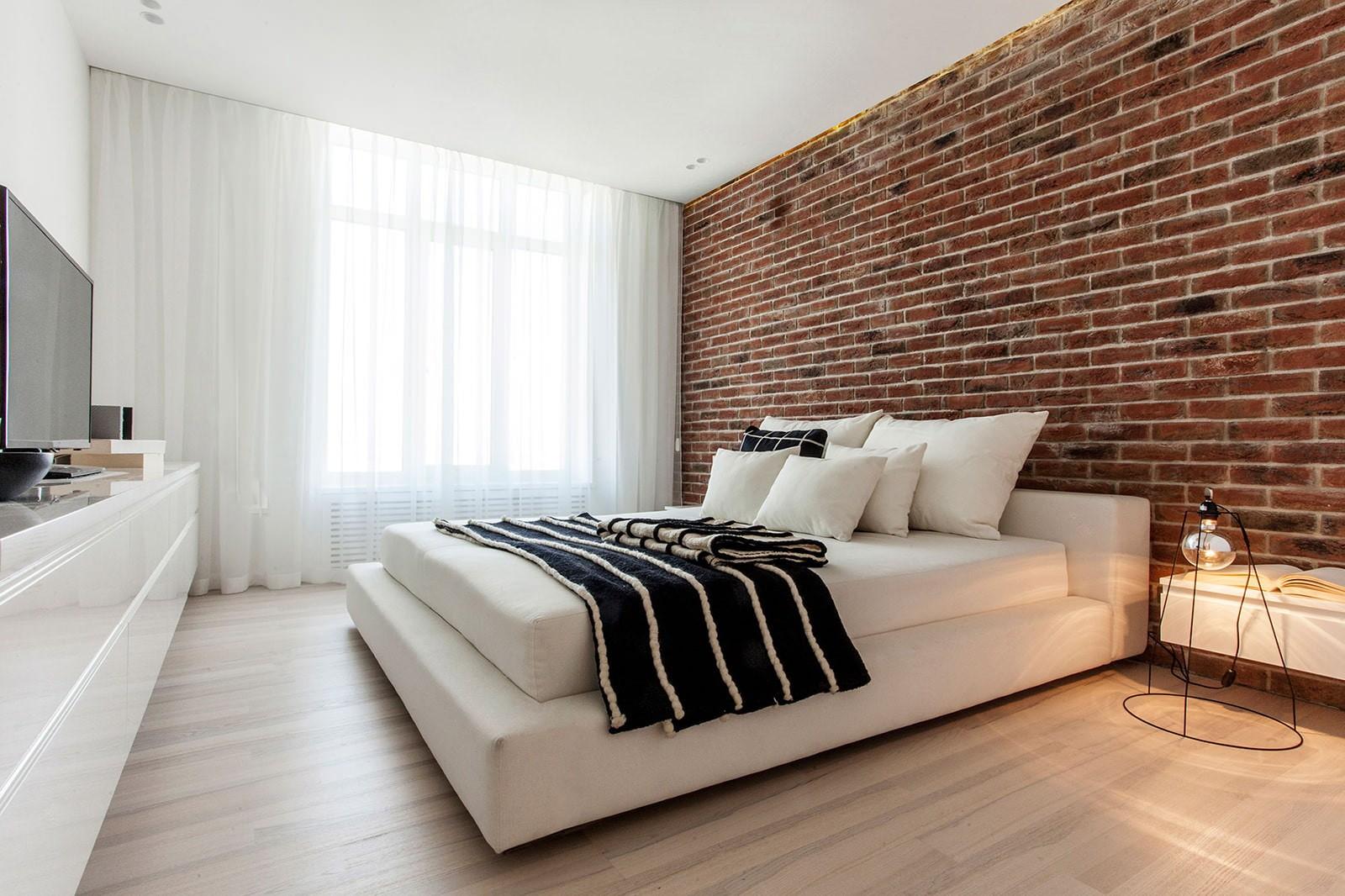 кирпичная кладка в квартире дизайн