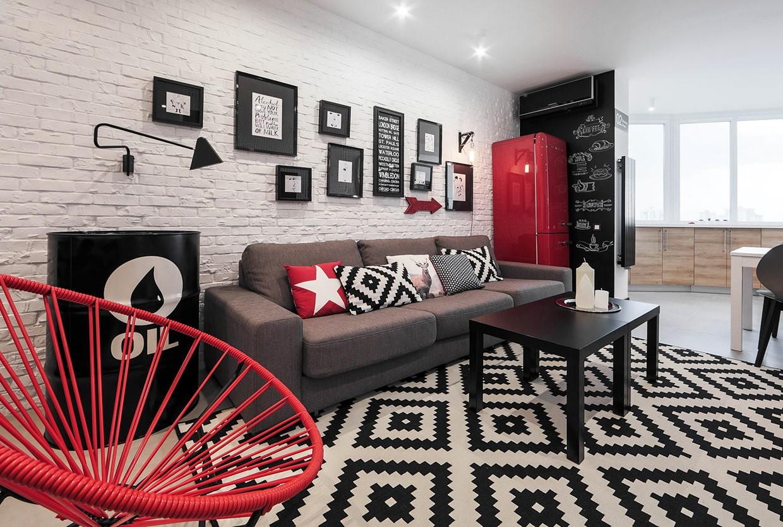 кирпичная кладка в квартире фото дизайн