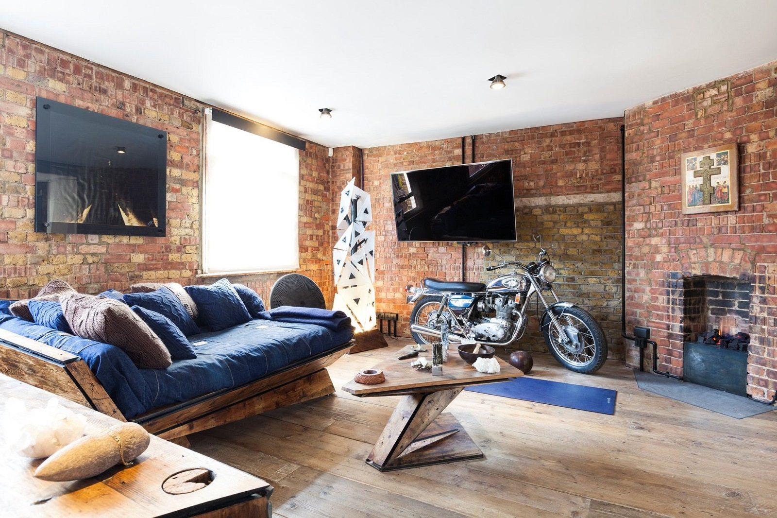кирпичная кладка в квартире фото идеи