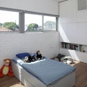 кирпичная кладка в квартире фото видов