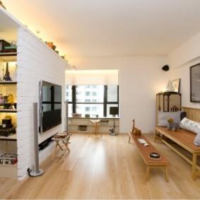 кирпичная кладка в квартире интерьер фото