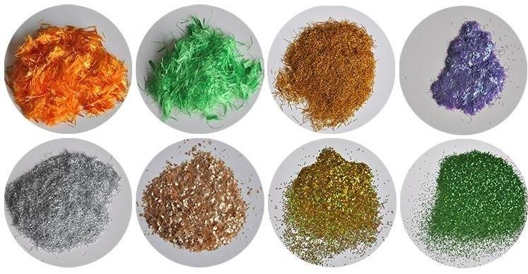 Целлюлозные волокна, красители и другие компоненты жидких обоев