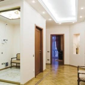 коридор с линолеумом идеи дизайн