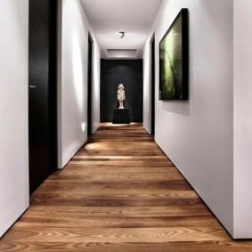 коридор с линолеумом идеи интерьер