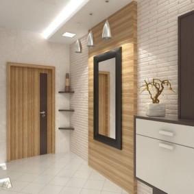 коридор в квартире оформление