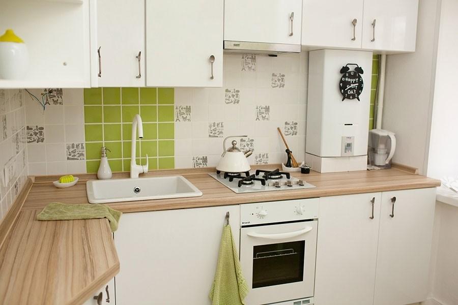 Подбор газового котла под кухонный гарнитур