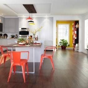краска для кухни идеи