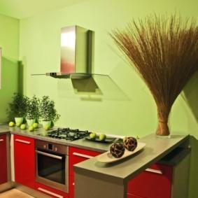 краска для кухни идеи дизайн