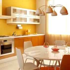 краска для кухни идеи интерьера